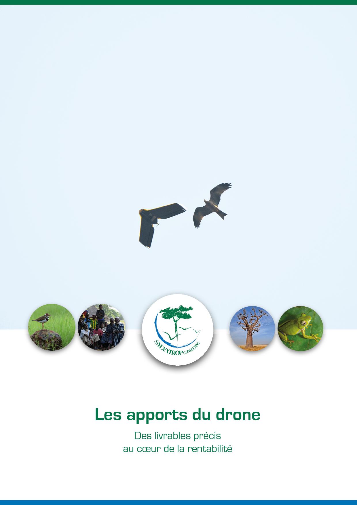 drone ebee+ guinee afrique de l'ouest senegal sylvatrop consulting