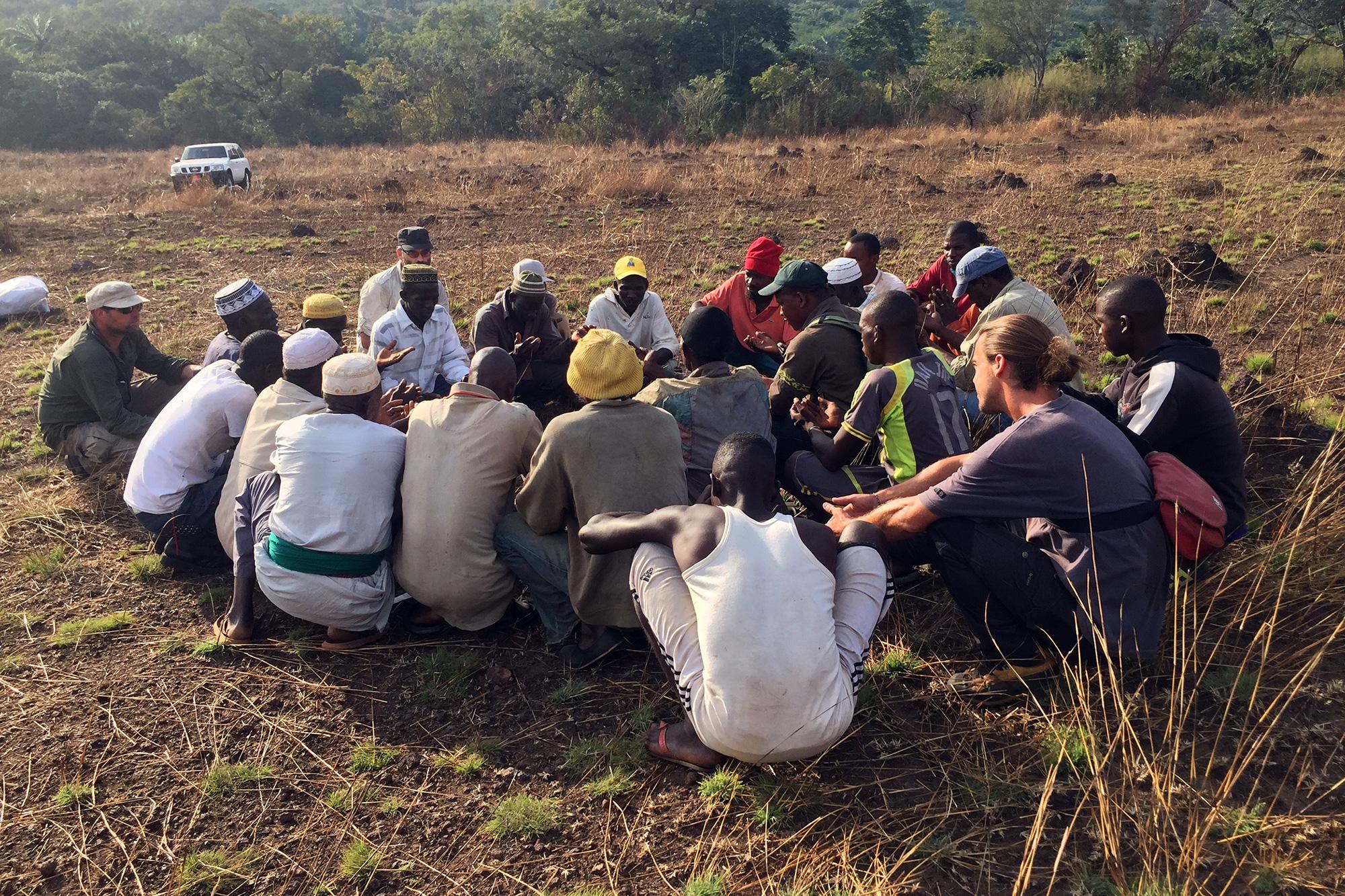 communication projet afrique